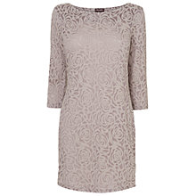 Buy Phase Eight Floral Burnout Tunic Dress, Mushroom Online at johnlewis.com