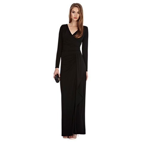 Buy Coast Alexi Jersey Maxi Dress, Black Online at johnlewis.com