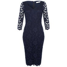 Buy Damsel in a dress Cassis Lace Dress, Navy Online at johnlewis.com