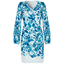 Buy Damsel in a dress Sky Printed Dress, Blue Online at johnlewis.com