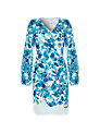 Damsel in a dress Sky Printed Dress, Blue