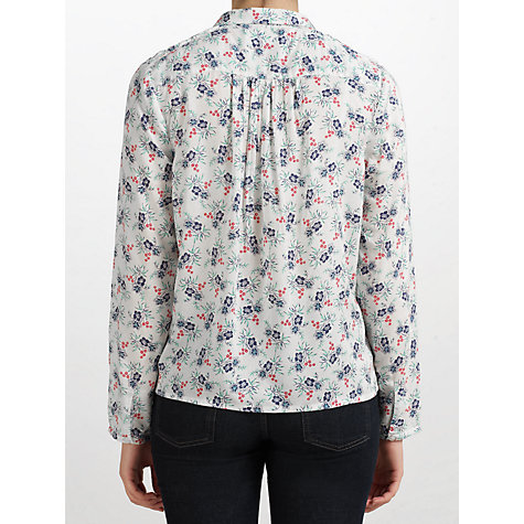Buy Collection WEEKEND by John Lewis Pleat Floral Blouse, Multi Online at johnlewis.com