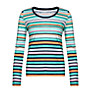 Buy Collection WEEKEND by John Lewis Long Sleeve Broken Stripe Top, Multi Online at johnlewis.com
