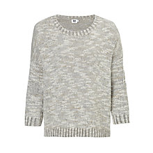 Buy Kin by John Lewis Textured Jumper, Grey Online at johnlewis.com