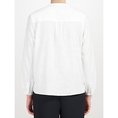 Buy John Lewis Capsule Collection Loose Fit Shirt, White Online at johnlewis.com