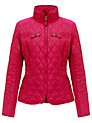 Buy John Lewis Erica Light Quilted Jacket, Dark Pink, 8 Online at johnlewis.com
