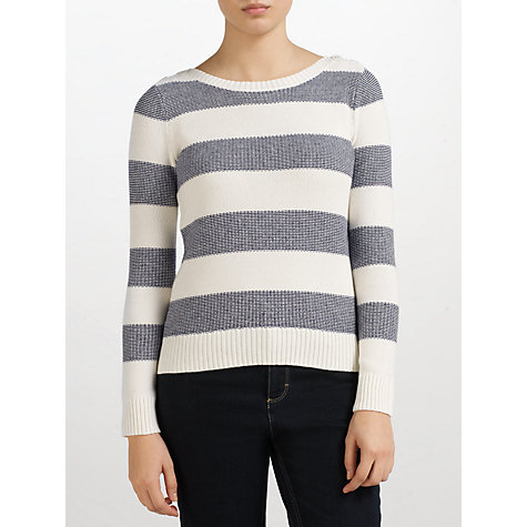 Buy John Lewis Capsule Collection Stripe Texture Jumper Online at johnlewis.com