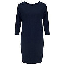 Buy Kin by John Lewis Dot Linen Dress, Indigo Online at johnlewis.com