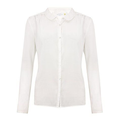 Buy Collection WEEKEND by John Lewis Pleat Vintage Blouse Online at johnlewis.com