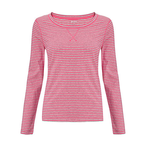 Buy John Lewis Sweatshirt Detail Striped Top Online at johnlewis.com