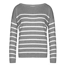 Buy Collection WEEKEND by John Lewis Boat Neck Striped Top Online at johnlewis.com