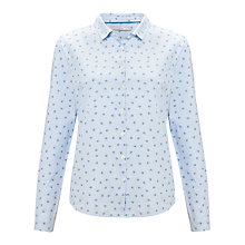 Buy John Lewis Ditsy Stripe Shirt, Blue Online at johnlewis.com