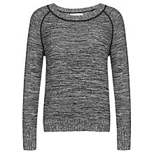 Buy Collection WEEKEND by John Lewis Two Colour Sweatshirt, Navy/White Online at johnlewis.com