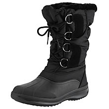 Buy John Lewis Igloo Snow Boots, Black Online at johnlewis.com
