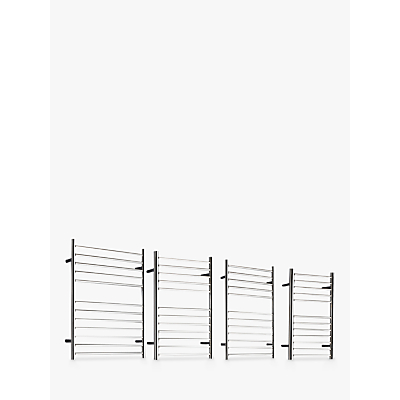 John Lewis St Ives Dual Fuel Heated Towel Rail and Valves, from the Wall