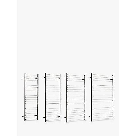 buy john lewis compton standard electric heated towel rail. Black Bedroom Furniture Sets. Home Design Ideas