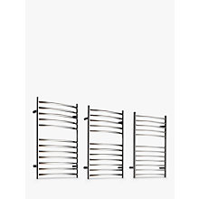 Buy John Lewis Sandsend Adjustable Electric Heated Towel Rail Online at johnlewis.com