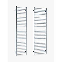 Buy John Lewis Brook Adjustable Electric Heated Towel Rail Online at johnlewis.com