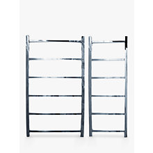 Buy John Lewis Peel 1250 Standard Electric Heated Towel Rail Online at johnlewis.com