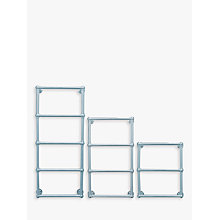 Buy John Lewis Seagrove Central Heated Towel Rail and Valves, from the Floor Online at johnlewis.com