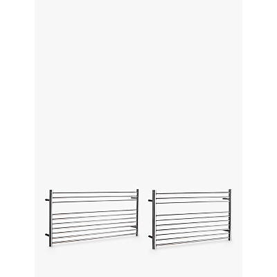 John Lewis Priory Adjustable Electric Heated Towel Rail