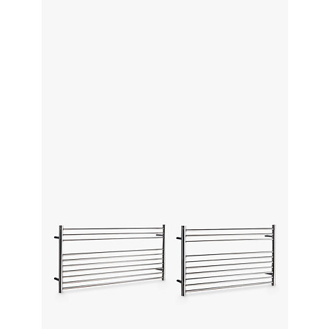 buy john lewis priory adjustable electric heated towel. Black Bedroom Furniture Sets. Home Design Ideas