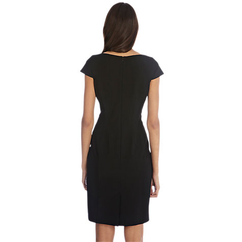 Buy Oasis Angel Panel Dress, Black Online at johnlewis.com
