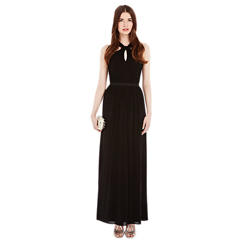 Buy Coast Claudia Jersey Maxi Dress, Black Online at johnlewis.com