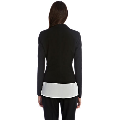 Buy Oasis Angel Panel Jacket, Black Online at johnlewis.com