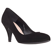 Buy Carvela Adam Court Shoes, Black Online at johnlewis.com