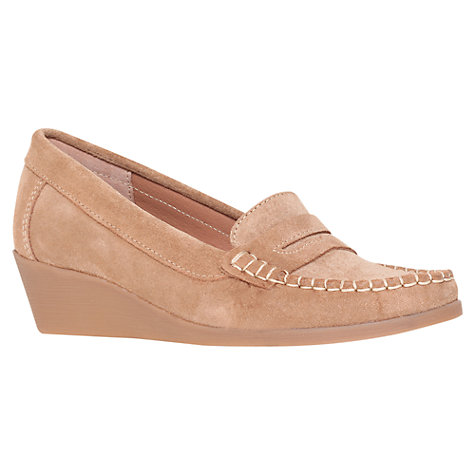 Buy Carvela Libby Suede Wedged Loafers Online at johnlewis.com