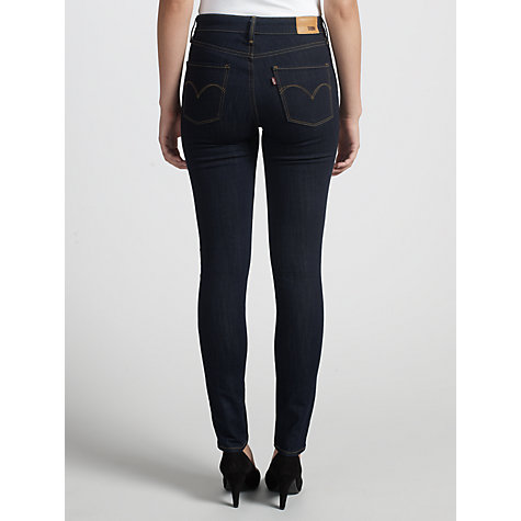 Buy Levi's High Rise Skinny Jeans, Extra Shade Online at johnlewis.com