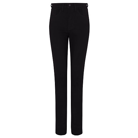 Buy Levi's Hi Rise Skinny Jeans, Pitch Black Online at johnlewis.com