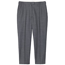 Buy Toast Cropped Slim Trouser, Mid Grey Online at johnlewis.com