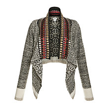 Buy Hoss Intropia Stud Neckline Boho Cardigan, Multi Online at johnlewis.com