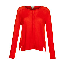 Buy Hoss Intropia Cashmere-Mix Cardigan, Poppy Online at johnlewis.com