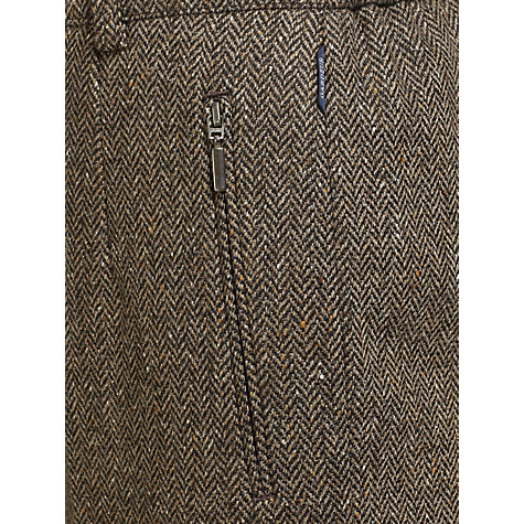 Buy Gardeur Karen Herringbone Straight Leg Trousers Online at johnlewis.com