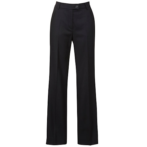Buy Gardeur Berta Heavier Fabric Trousers, Navy Online at johnlewis.com