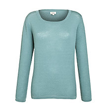 Buy Hoss Intropia Textured Jumper, Ocean Online at johnlewis.com