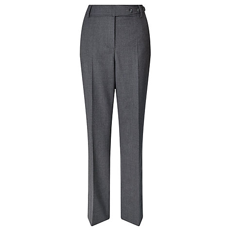 Buy Gardeur Peri Flannel Straight Trouser Online at johnlewis.com