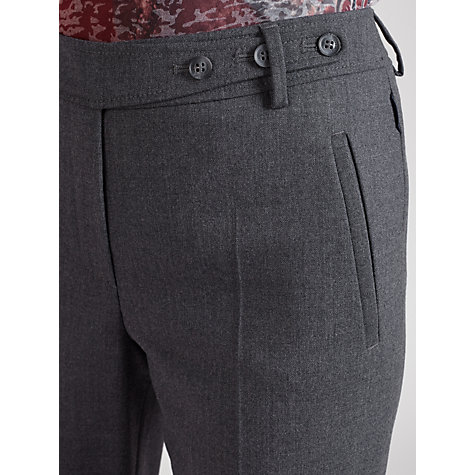 Buy Gardeur Peri Flannel Straight Trouser, Grey Online at johnlewis.com