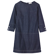Buy Toast Denim Dress, Indigo Online at johnlewis.com