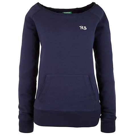 Buy Rampant Sporting Sweat Top, Peacoat Online at johnlewis.com