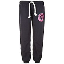 Buy Rampant Sporting Slim Drill Trousers, Black Online at johnlewis.com