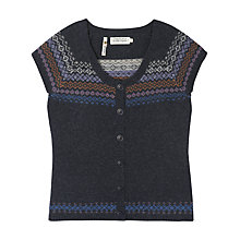 Buy Seasalt Thimble Cardigan, Blue Online at johnlewis.com