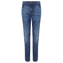 Buy Levi's High Rise Skinny Jeans, Blue Acres Online at johnlewis.com