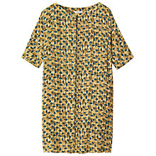 Buy Toast Printed Dress, Olive Online at johnlewis.com