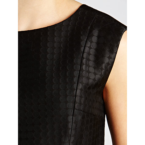 Buy Hoss Intropia Spot Shift Dress, Balck Online at johnlewis.com