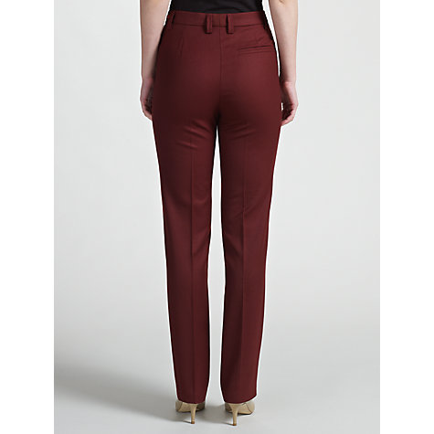 Buy Gardeur Kayla Special-Fit Trousers, Red Online at johnlewis.com