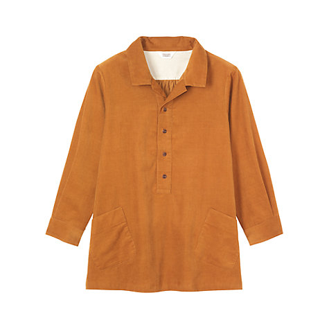 Buy Toast Fine Corduroy Shirt, Orange Online at johnlewis.com